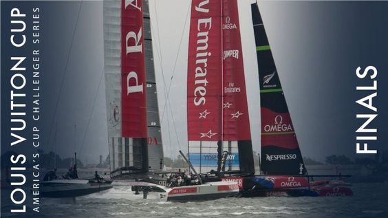 Schöne Footage vom Louis Vuitton Sailing Cup - Karamarane in Action!