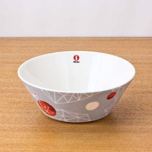 iittala/イッタラ/Himmeli/ヒンメリ/ボウル15cm/グレー