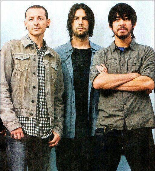 Chester, Rob, and Mike - Linkin Park