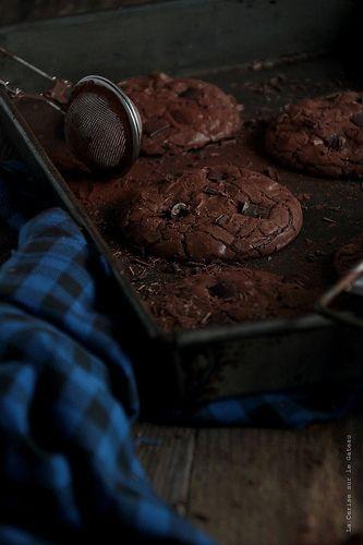 cookies011 Chocolate Brownies Cookies