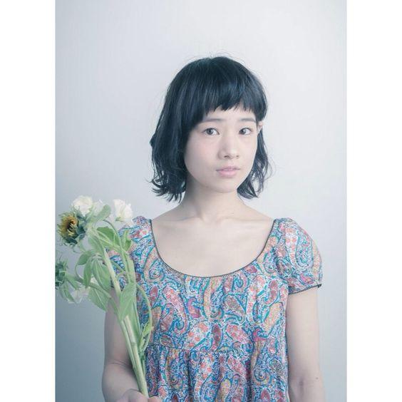 夏の髪と夏の花