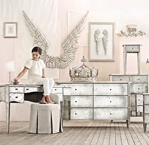 Restoration hardware hardware and wings on pinterest - Restoration hardware bedroom furniture ...