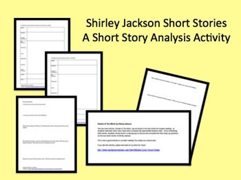 plot and central idea in shirley jacksons the lottery essay Shirley jackson's, the lottery concerns a small town's annual lottery drawing and the grim circumstances that ensue in this short but disturbingly profound piece.