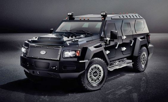 Conquest vehicles reveals the evade, its new, gigantic unarmored SUV.  _______________________________  The world is a dangerous place—the stuff is always ready to hit a fan somewhere—so what better way to protect yourself than an armored vehicle? And what better armored vehicle to use than Conquest Vehicles's Knight XV, a massive SUV designed to stop bullets while looking like it can stop a cruise missile.
