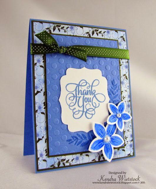 Kendra's Card Company: Tutorial: Gina K & Spectrum Noir Tutorial