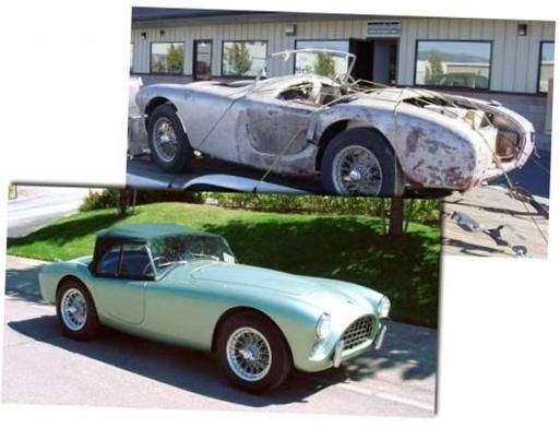 Classic Car Restoration Before And After Motos Y Referencias