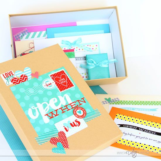 The Perfect Open When Letters Open when letters, Gifts and Boxes