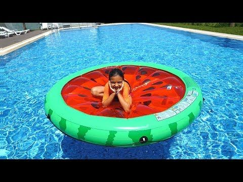 Oyku And Masal Pretend Play In Pool Funny Kids Video Youtube Funny Videos For Kids Youtube Videos For Kids Pool Funny
