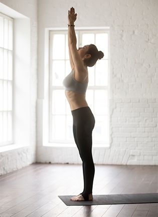 Tadasana Or Mountain Pose