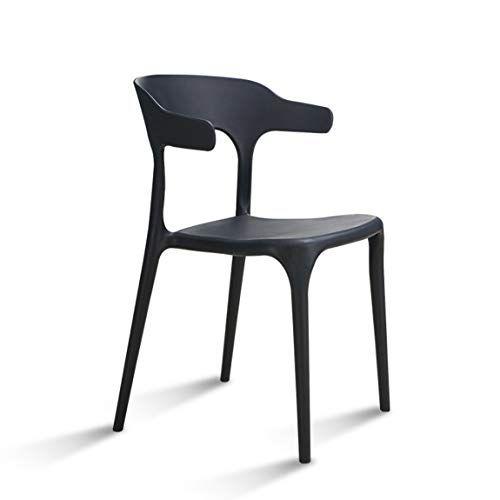 Lrw Modern Minimalist Plastic Chair Nordic Fashion Leisure Chair
