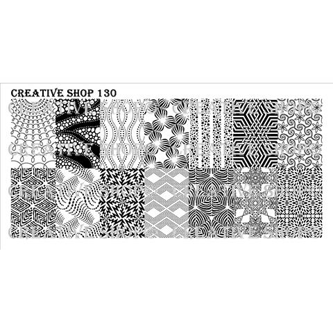 COMING SOON Creative Shop- Stamping Plate- 130
