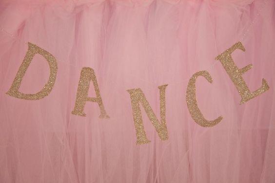 Ballerina Themed 5th Birthday Party with Lots of Really Cute Ideas via Kara's Party Ideas KarasPartyIdeas.com #ballerinaparty #balletparty #danceparty #balletpartyideas #partydecor (8)