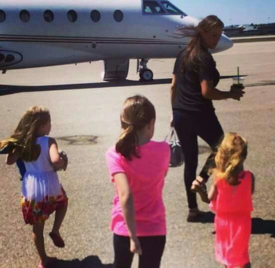 Stephanie with her three daughter