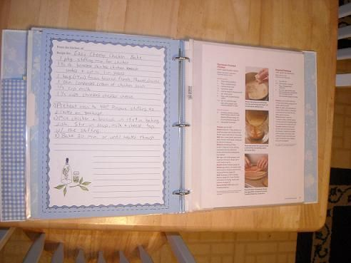 make your own cookbook - get rid of some of the cooking magazines and organize the printed recipes