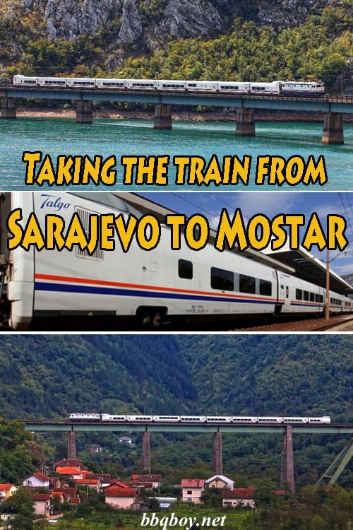 The Most Civilized Train Route In The Balkans And One Of The Most Scenic As Well All About Taking The Train Between Sarajev Mostar Mostar Bosnia Train Route