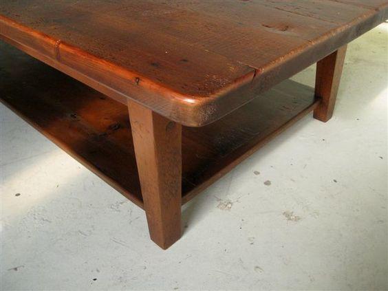 Rustic Barnwood Coffee Table