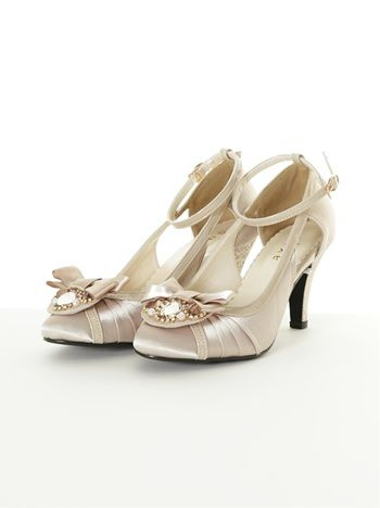 Party with Bijoux Pumps (Beige-M)