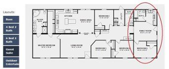 Double Wide 2 Master Suites Floor Plan Manufactured Homes Floor Plans Modular Home Floor Plans Mobile Home Floor Plans