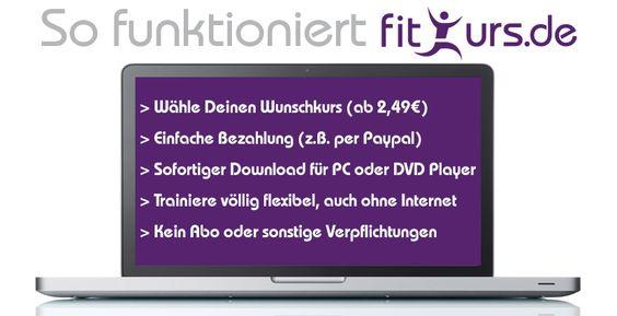 Fitkurs – Das Online Fitnessstudio | Download von Fitnesskursen