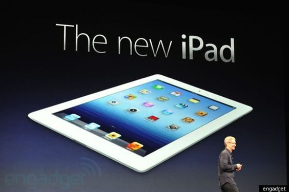 L'ipad 3 était dévoilé le 7 Mars 2012 à 19H00:  Le nouvel iPad aura une résolution de 2048 x 1536   meilleur taux de contraste , le processeur A5 evolue et double la partie graphique  quad core , 4 fois plus rapide que le tegra 3  appareil photo 5 megapixels avec les memes fonctions que le 4S .L'ipad devient hotspot.  10h d'autonomie, 9h en 4g. 9,4mm dispo en noir et blanc. 499 dollars pour le 16g wifi même tarif dispo 16/03