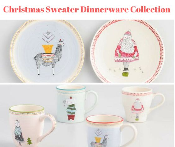 Christmas Sweater Weather Dinnerware Collection