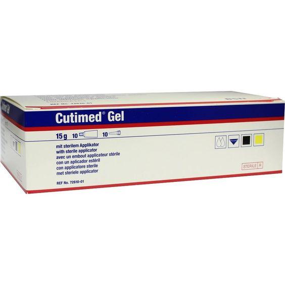 CUTIMED Hydrogel amorph:   Packungsinhalt: 10X15 g Gel PZN: 02880040 Hersteller: BSN medical GmbH Preis: 79,52 EUR inkl. 19 % MwSt. zzgl.…