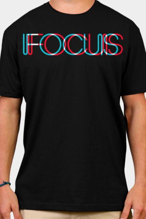Focus Tshirt Tshirts Tshirtdesign T Shirt Fracktured Apparel Clothing Menswear Inspira Best Mens T Shirts Sport Shirt Design Shirt Design Inspiration
