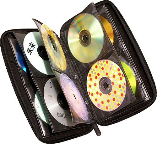 CASELOGIC 72 CAPACITY HEAVY DUTY CD WALLET CDE-72-DARK BLUE