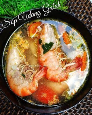 Sop Udang Galah Resep Masakan Cina Resep Masakan Simpel