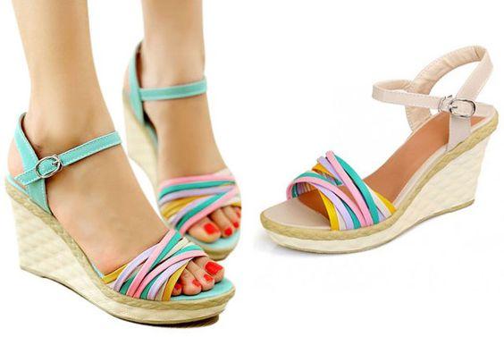 Sandales Femmes Style Boheme 18€ Livraison incluse dans le tarif !