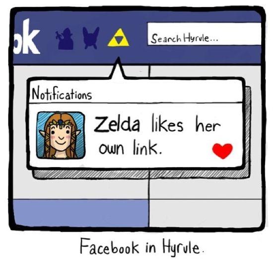 Zelda likes her own Link