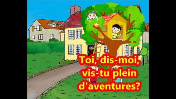 Ma cabane - Version karaoké - Chansons pour enfants - Didier LESTER