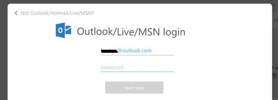 fix error code 0x80070057 - Login to  Outlook Live