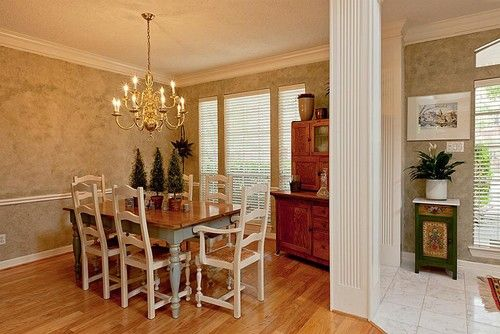 The Art of Rearranging traditional dining room