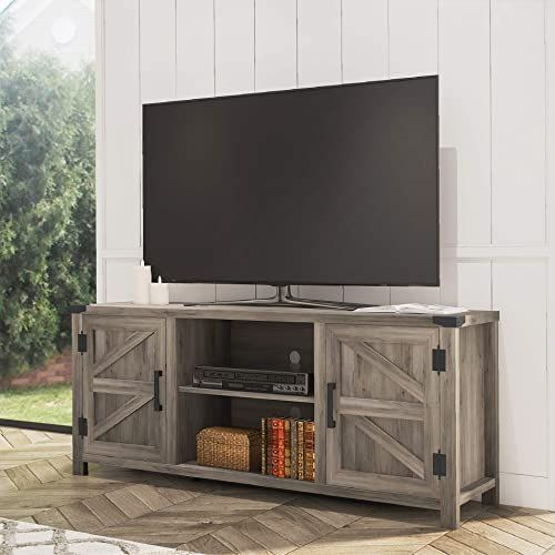 Farmhouse Tv Stand For 65 Inch Flat Screen