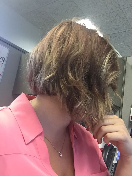 My favorite hair style. Balayage and short