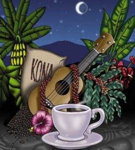 Kona Coffee...wish I had some right now