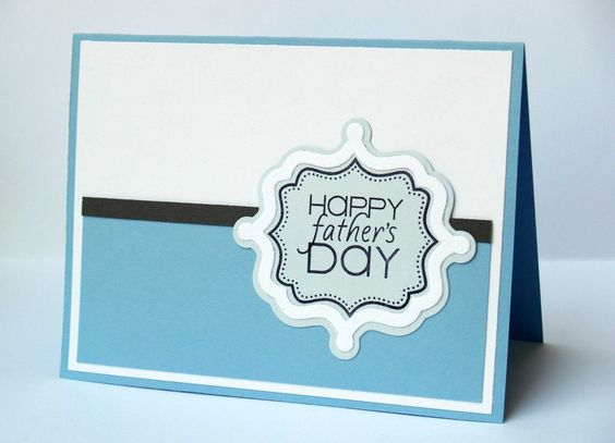 Say Happy Father's Day with a Card...by DCS Designer Laura Williams