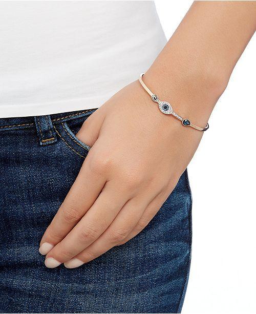 Swarovski Swarovski Angelic Bracelet Purple Rhodium Plated Women Jewelry Jewelry Bracelets