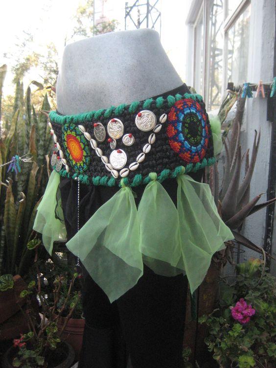 Tribal Bellydance danza arabe fajillas vestuarios y cinturones en México CDMX por Danar.
