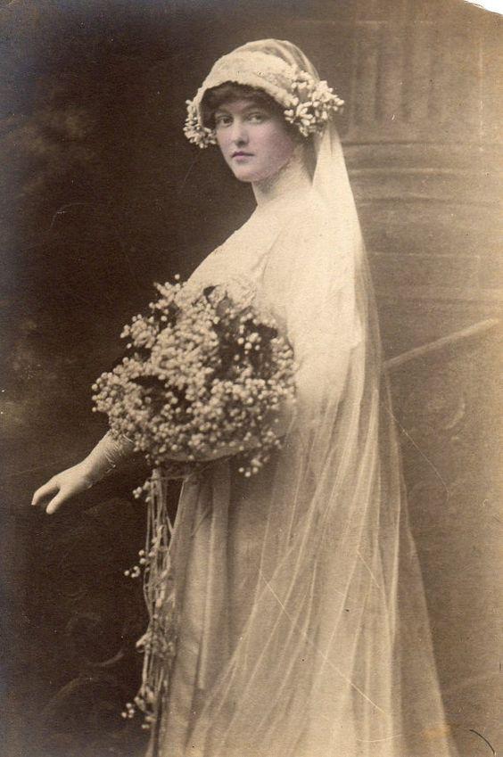 Античен булчински портрет, около 1900 - 1915 г.