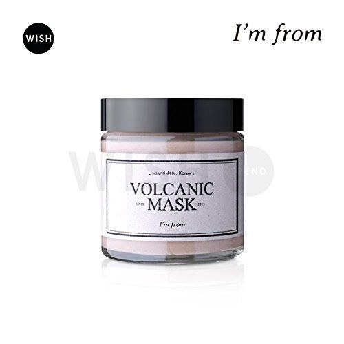 I'M FROM Volcanic Mask 110g, Natural Volcanic Clay 8.6%, ... https://www.amazon.com/dp/B01B1J40DG/ref=cm_sw_r_pi_dp_x_TC1LybE26V611