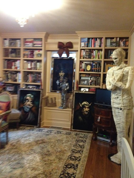 Our haunted library
