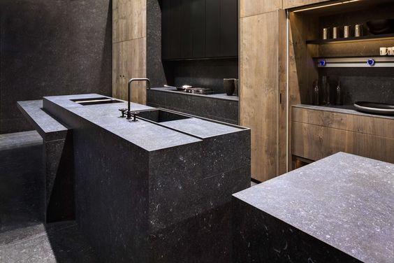 keuken met neolith tegels verkrijgbaar bij ons wwwtegelwijzernl - granit arbeitsplatten f r k chen
