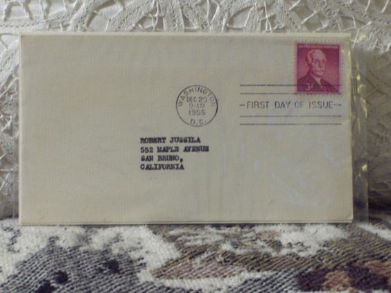 http://ajunkeeshoppe.blogspot.com/   First Day Issue/Cover-Stamp-Andrew W. Mellon 1955 3c 8ozP724B4HP1168