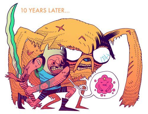 Dan Hipp / 10 years later