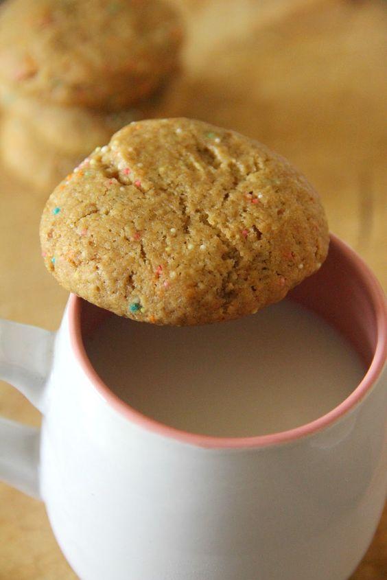 Browned Butter Funfetti Sugar Cookies | Desserts | Pinterest | Sugar ...