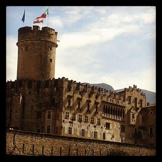 Castello Buonconsiglio a Trento Italy Estate 2014