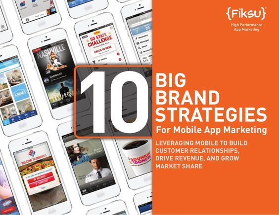 Big Brand Strategies for Mobile App Marketing via Fiksu, posted by Scott Valentine via Slideshare #protheine  http://www.protheine.com