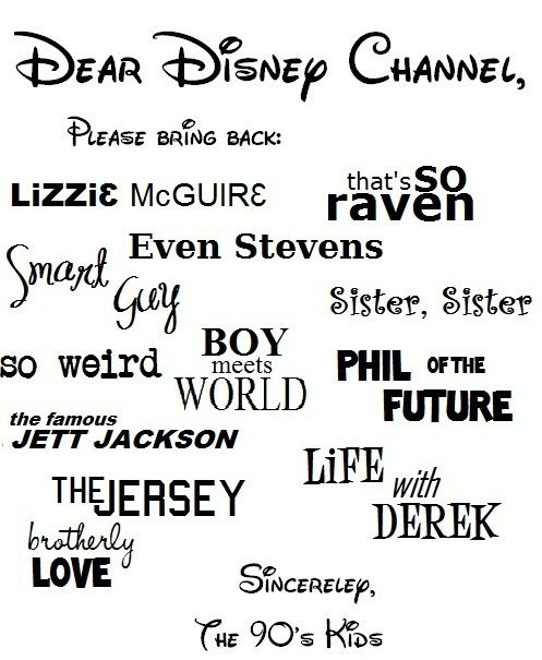 YES!!! I wish. They should do a revival of all of these.